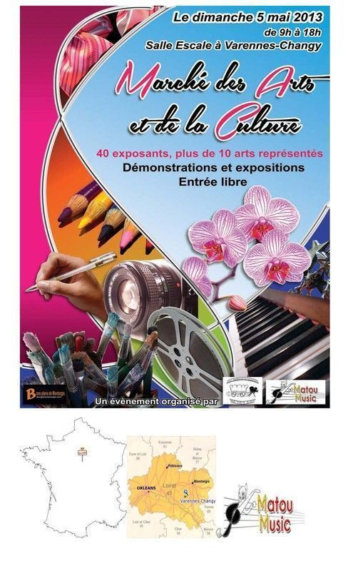 Premier marché des arts et de la culture de Varennes-Changy