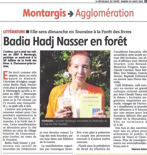 article Forêt des livres 2013